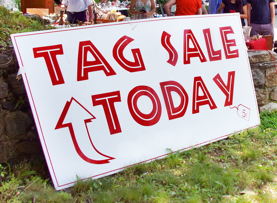 Tag, Rummage, Estate, and Garage Sales:  The Good, The Bad, and How to Tell If It's Worth Your Time