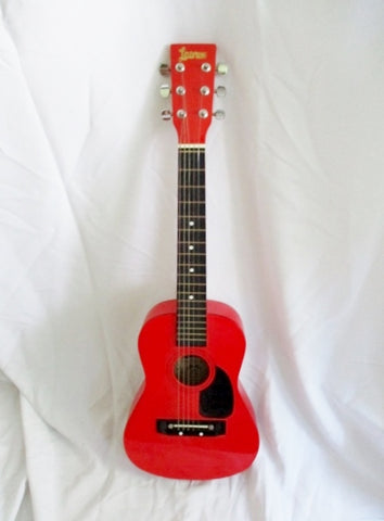 "LAUREN 31"" STUDENT Classical Acoustic Guitar Musical Instrument Wood RED"