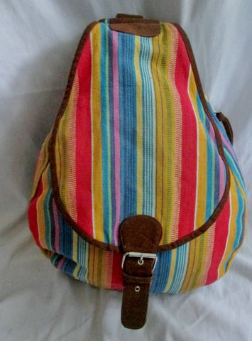 Ethnic Serape Rucksack Daytripper BACKPACK BAG Vegan Blanket Multi
