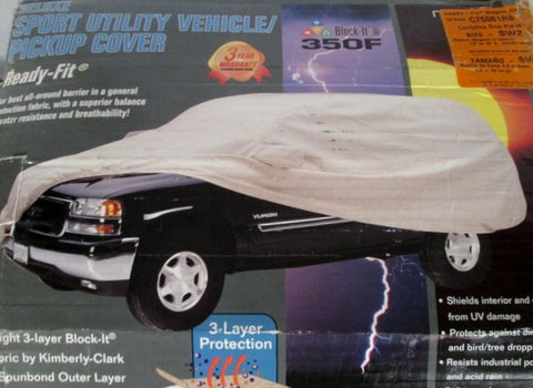 COVERCRAFT READY FIT DELUXE 350F Size SW2 Sport Utility Vehicle Pickup COVER
