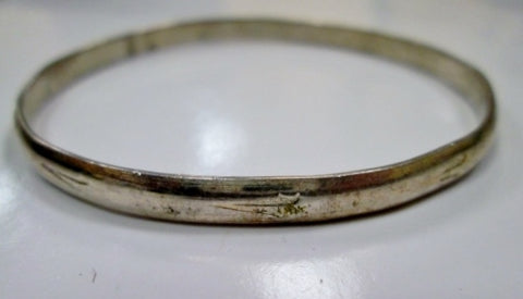 Mexican ALPACA SILVER Symbol Handmade FETISH Bracelet Cuff Bangle Jewelry ETHNIC West