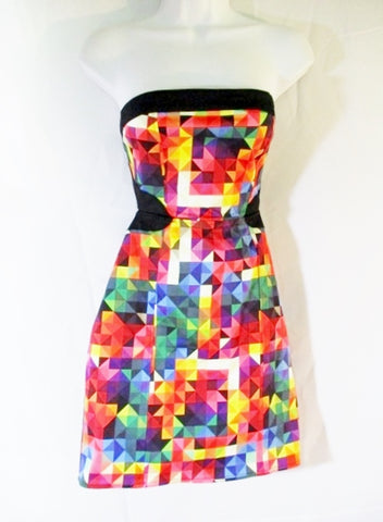 NEW Girls Womens MOTEL ROCKS ZAHARA Dress Sleeveless L KALEIDOSCOPE NWT