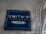 MENS SMITH'S WORKWEAR BROOKLYN CANVAS JACKET Coat XL BROWN Lined