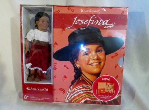 AMERICAN GIRL JOSEFINA 6-book set MINI DOLL BOARD GAME Bundle SHRINKWRAPPED Gift