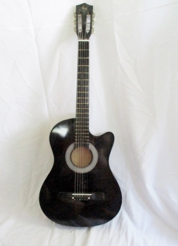 "SKY 38"" STUDENT Classical Acoustic Guitar Musical Instrument Wood BLACK"