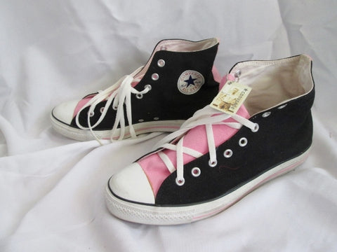 Mens CONVERSE ALL STAR CHUCKS Chuck Taylor Hi- Top Sneaker Sports PINK 12 BLACK