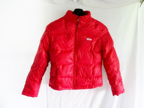 Youth Girls FIRST DOWN 1982 FULL ZIP JACKET Coat Puffer RED XL Parka Teen