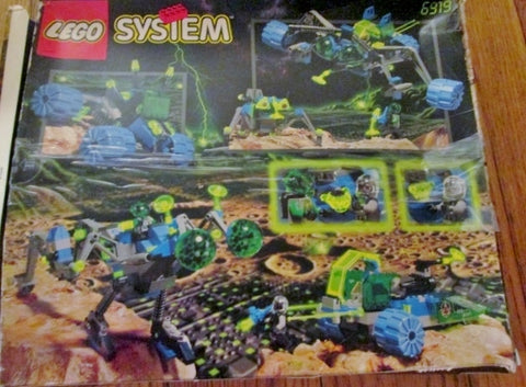LEGO SYSTEM INSECTOIDS 6919 Set Creative Play Building Toy Minifigs Construction Instructions Fun