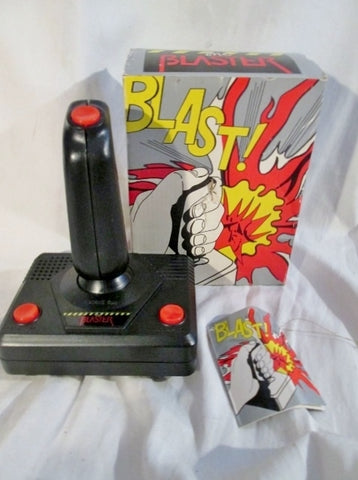 Vtg 1987 The Blaster Toy Gemmy Productions Machine Gun Searing Laser Nuclear FUN