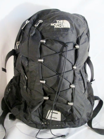THE NORTH FACE BOREALIS BACKPACK Shoulder Rucksack Travel BAG BLACK Vegan