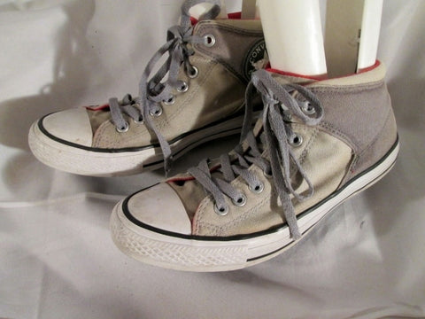 Mens CONVERSE ALL STAR Chucks Hi-Top Sneaker Trainer Athletic Shoe GRAY 8.5 Padded