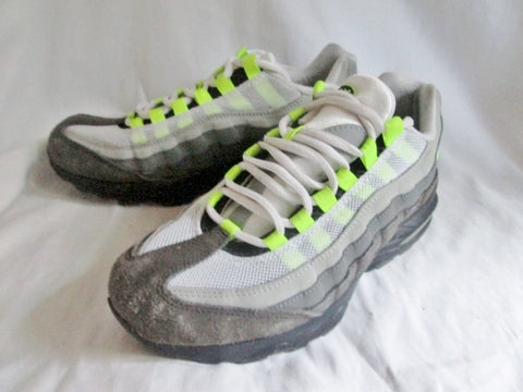 YOUTH KIDS Nike AIR MORE AIRMAX 95 MORE UPTEMPTO Sneaker Trainer GRAY 7 Running