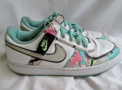 Womens NIKE VANDAL LOW 312492-104 Running Sneakers Athletic Shoes Trainers 10 MINT LIQUID