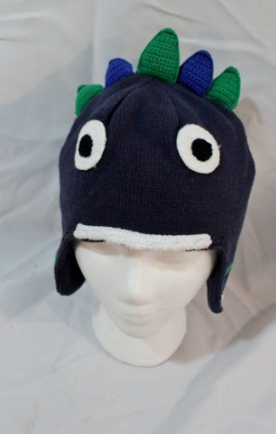 HANNA ANDERSSON Kids Childrens MONSTER Trapper Flap HAT Cotton L Cap