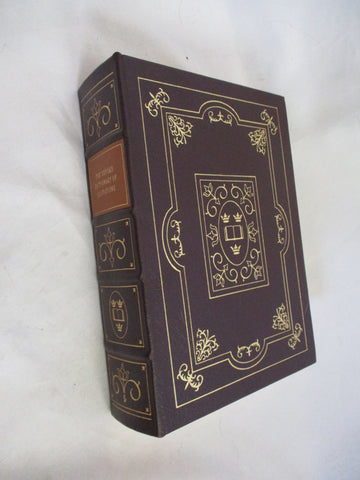 EASTON PRESS OXFORD DICTIONARY QUOTATIONS Leather Book Collectible Gilt