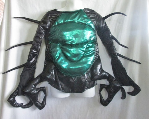 WISHCRAFT Kids SCORPION BUG INSECT CLAW Disguise Halloween Costume 4 BLACK GREEN Cosplay