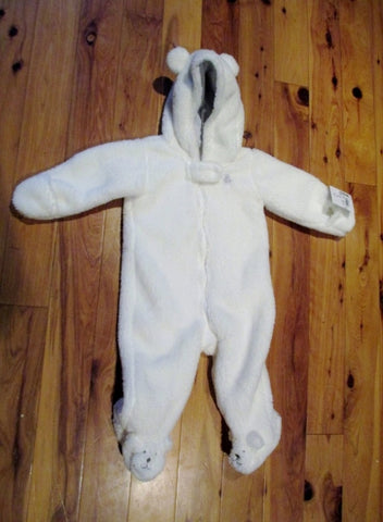 NEW NWT CARTER'S INFANT FLEECE BABY SHERPA Coat WHITE BEAR 6 months Gift