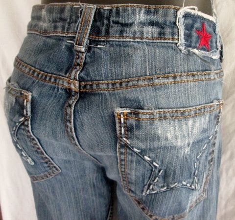 Womens PEOPLE'S LIBERATION BELLA MONACCO CALIFORNIA USA Jeans 29 Pants