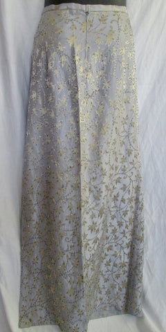 NEW NWT WOMENS JS COLLECTIONS Party Prom Wedding Maxi SKIRT 8 PURPLE Formal