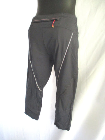 ADIDAS STELLA MCCARTNEY 3/4 RUN TIGHT Legging 42 GREY GRAY Pant Capri
