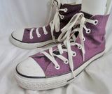 Womens CONVERSE ALL STAR Hi-Top Sneaker Trainer Athletic Shoe Boot PURPLE 8 Mens