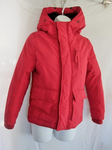 Girls ABERCROMBIE PUFFER Ski Snowboard Winter JACKET Coat RED M Hood