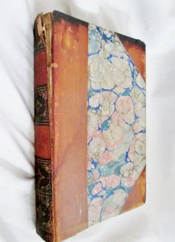 Antique 1891 YESTERDAYS WITH AUTHORS JAMES T. FIELDS Leather Book Collectible Literature
