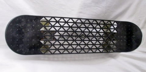 DIAMOND DECK Brand BLACK MESH SKATEBOARD RAMPAGE WHEELS ABEC-1 Skateboarding