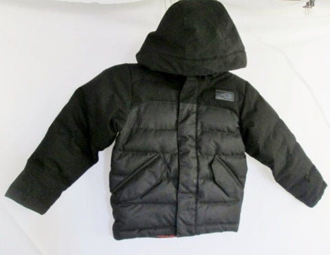 Boys Kids THE NORTH FACE 550 Series Down Jacket Coat Winter Puffer Ski BLACK XXS