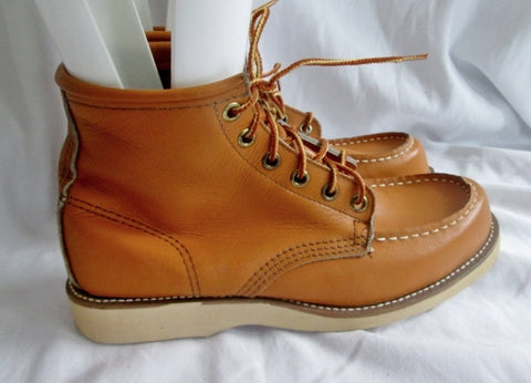 NEW NWT PORON 27711 Leather HIKING Work Boots BROWN NUBUCK Men 5.5 Womens 7.5