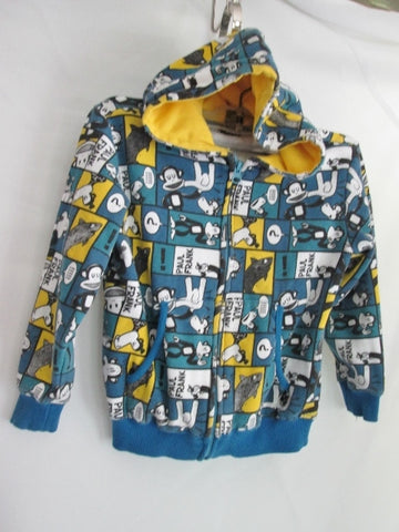 Boys Girls Juniors PAUL FRANK MONKEY Sweatshirt JACKET Hoodie 5 BLUE WHITE YELLOW