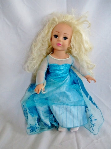 "Madame Alexander 18"" Doll 2007 Blonde Hair Blue Eyes FULLY DRESSED BLUE Outift"