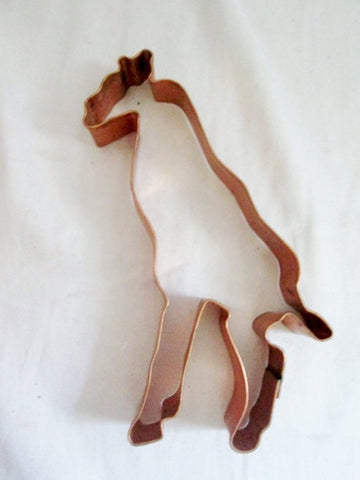 MARTHA STEWART GIRAFFE WILD ANIMAL COPPER Cookie Cutter Mold Baking Pastry Chef