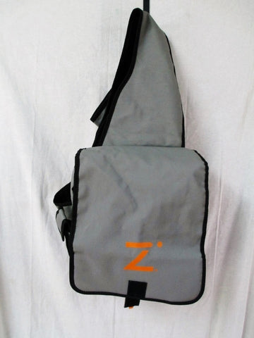 NEW Mens Womens ZIRE Shoulder Flap Bag Man Purse Messenger Crossbody GRAY GREY