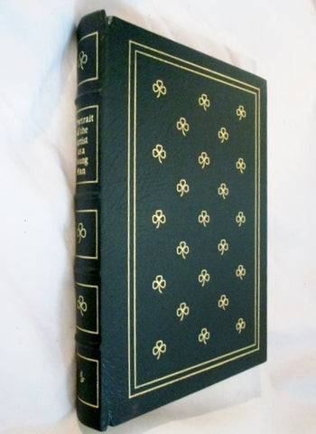 NEW 1977 EASTON PRESS PORTRAIT ARTIST YOUNG MAN JOYCE Hardcover Leather Book GREEN Collectible Gilt