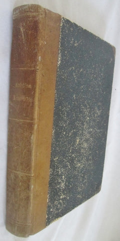 Antique 1902 KRISTINA KRUMLILIE Hanna Wijnbladh SWEDISH Leather HC Book RARE