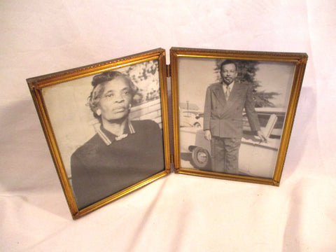 Vintage Photograph Set African-American Man Woman Black Photo History Dignity