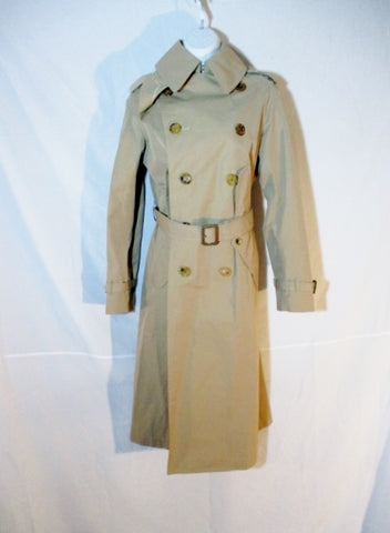 NEW JUNYA WATANABE COMME DES GARCONS TRENCH COAT S Beige Womens