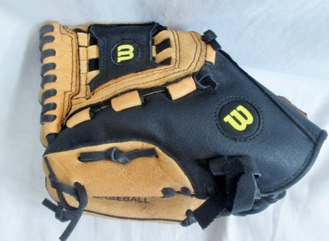 "NEW NWT WILSON 11"" A0352 Baseball Brown Black Leather Glove Softball Fielding"