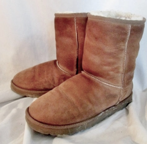 2755725c5fd Womens UGG AUSTRALIA 5825 CLASSIC Short Suede BOOTS Shoes 11 CHESTNUT BROWN  Winter