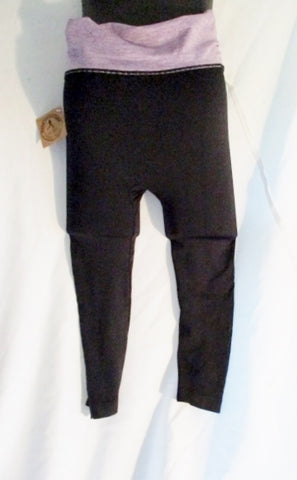 NEW NWT Maze Collection Black Stretch Tregging Legging Athletic Pant XL Fitness Yoga