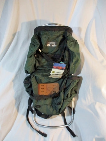 NEW NWT JANSPORT TALL D SERIES FRAMEPACK Frame BACKPACK Travel GREEN Hiking Camping