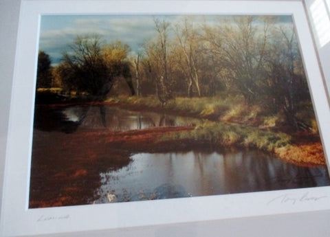 Signed Original TONY CASPER LUMINA PHOTO Photography Fine ART River Water