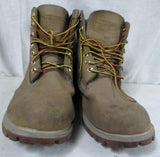 Mens RUGGED OUTBACK Leather Chukka Boot Shoe Trail Hiking BROWN 8.5 WATERPROOF