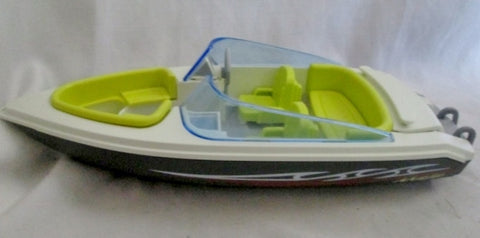 Playmobil 2010 Maja Yacht Speed Boat Family Bathtub Pretend Play Speedboat
