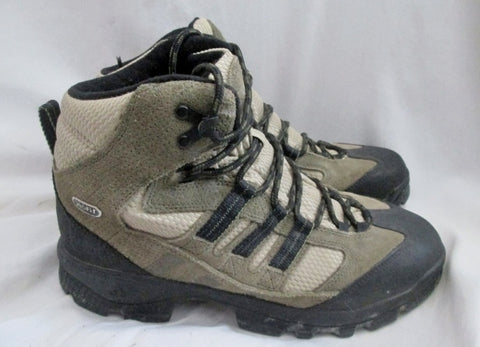Mens ADIDAS GEOFIT Mountain Grip HIKING Snow Camping Boots Trek GRAY 9 Shoe