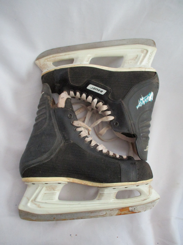 Mens BAUER CHARGER CANADA Ice Hockey Skates BLACK 10 Winter Sport