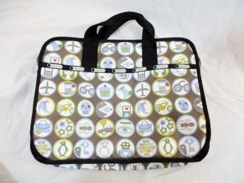 "14"" ANDERS WENNGREN FOR LESPORTSAC PICTOPOP Laptop Case Bag Tablet Padded"