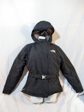 Womens THE NORTH FACE DOWN JACKET Coat Puffer M BLACK Hood