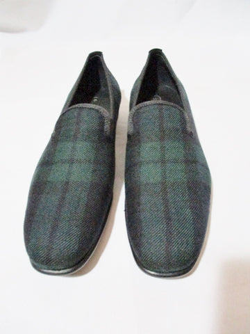 NEW NWT ALEXANDER MCQUEEN BLACKWATCH TARTAN Shoe 36 6  Moc Flat